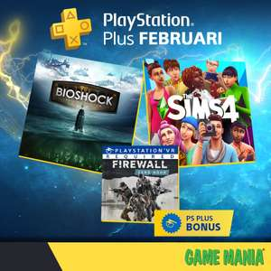 PS Plus games februari 2020