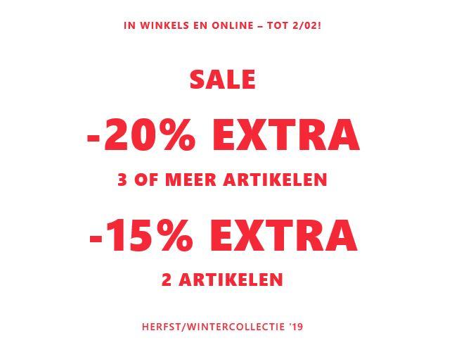 SALE tot -70% + 15-20% EXTRA @ Mango