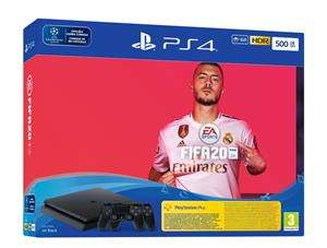 PlayStation 4 Slim (500 GB) + Fifa 20 + 2 Controllers @ Game Mania