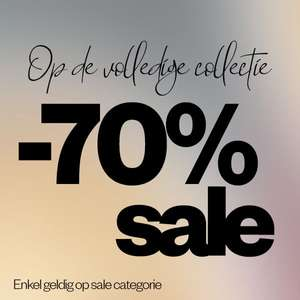 SALE: alles 70% EXTRA korting @ Maison Lab