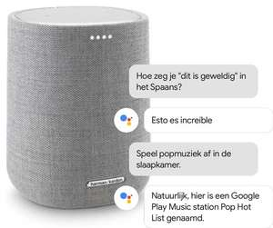 Harman/Kardon Citation One Zwart of Grijs (Smart Home, WiFi, Streaming, Google Assistant) @Bol.com/Coolblue