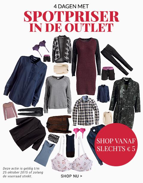 Mode en meer vanaf €5 in de outlet @Bonaparte