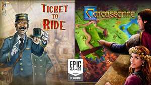 Ticket to Ride en Carcassonne gratis @ Epic Games Store