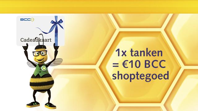 Gratis €10 cadeaukaart van BCC bij minimaal 10 liter tanken @ BP/FreeBees