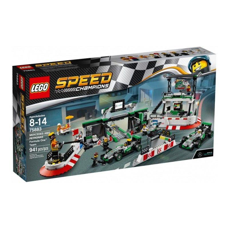 LEGO SPEED CHAMPIONS MERCEDES AMG PETRONAS FORMULE 1 TEAM - 75883