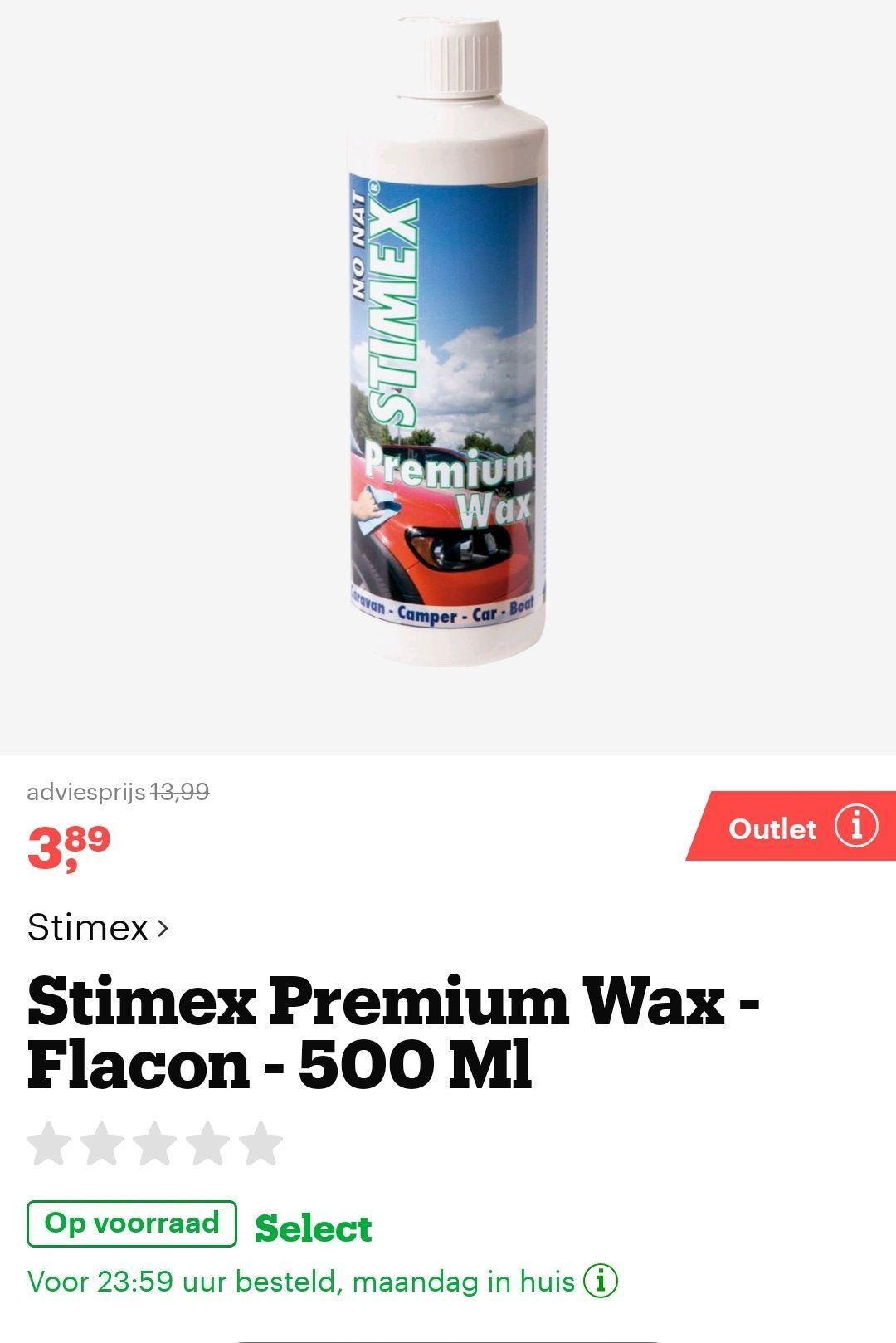 Premium Wax Stimex