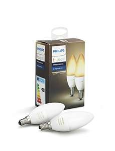 Philips Hue White Ambiance E14 Candle Duo-pack