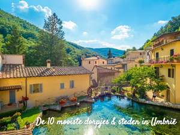 Gratis e-book met de tien mooiste dorpjes en steden in Umbrië t.w.v. € 6,95