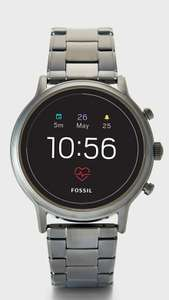 Fossil Gen 5 The Carlyle HR Smoke Stainless Steel