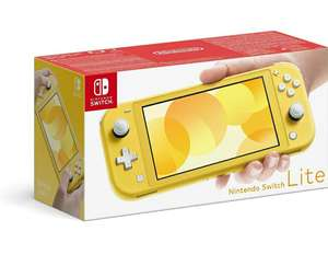 Nintendo Switch Lite geel @Amazon.de