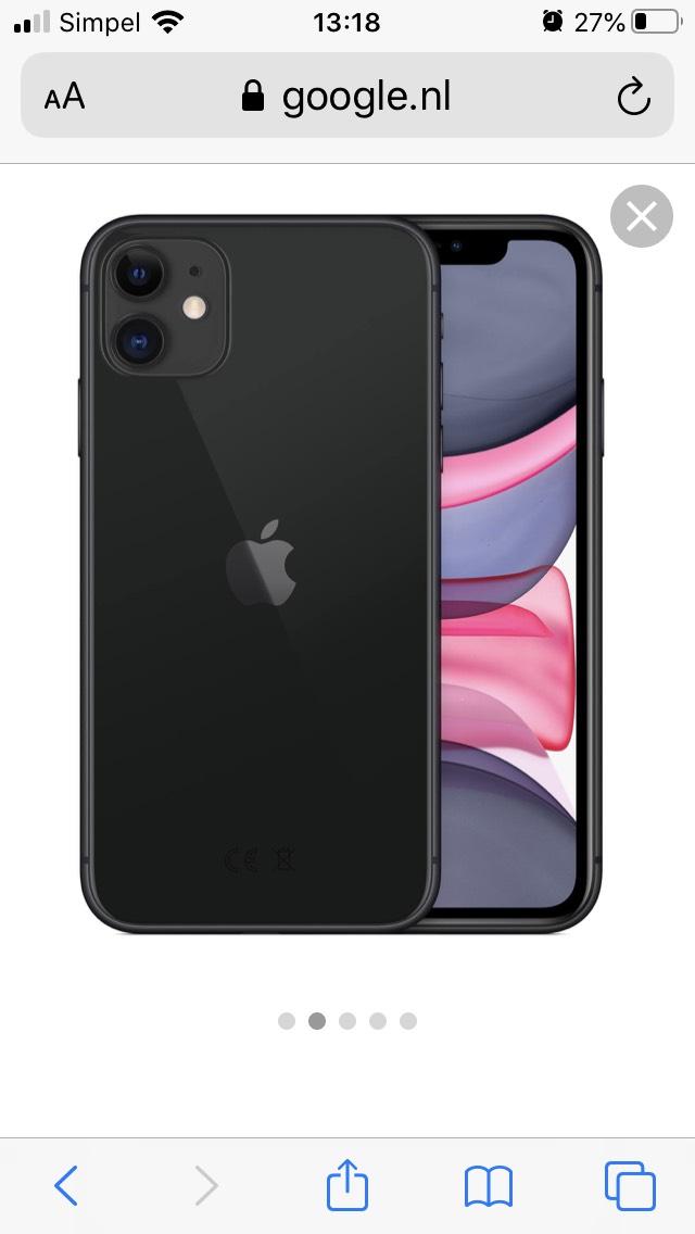 iPhone 11 voor €538,- bij een Vodafone abonnement (€252,-)