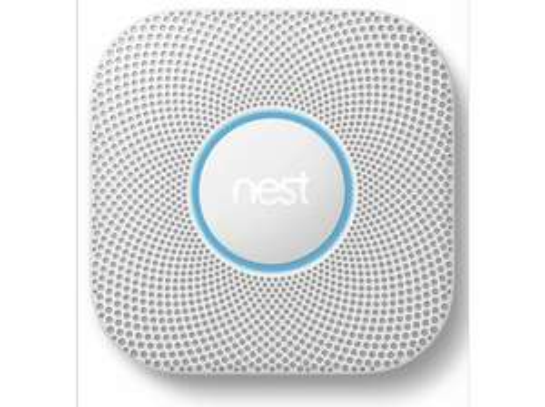 Google Nest Protect rook- en koolstofmonoxidemelder V2 met batterij @ Media Markt