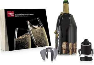 VacuVin Champagne Accessory set (3-delig) voor €7,99 @ Bol.com