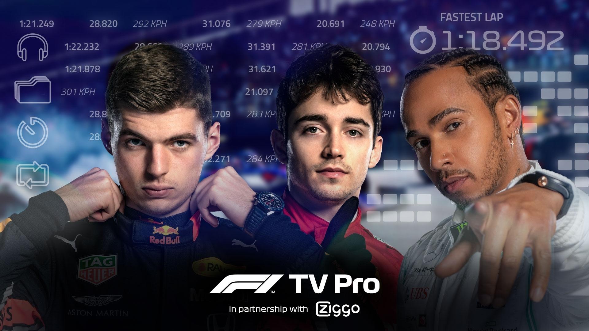 [Ziggo + ZST] gratis F1 TV Pro! voor Ziggo Sports totaal abonnees
