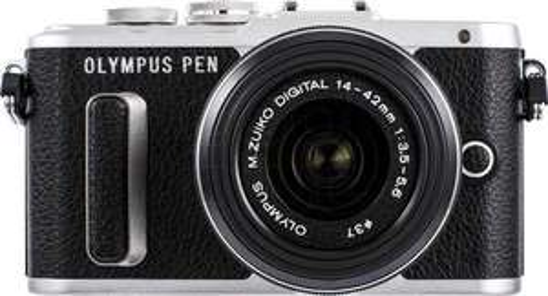 Olympus PEN E-PL8 Zwart + 14-42mm IIR f/3.5-5.6