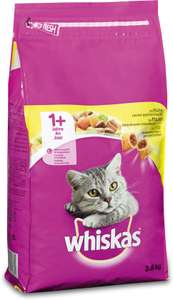 [Select deal] Whiskas 1+ Adult Droge Brokjes - Kip - Kattenvoer - 3.8 kg