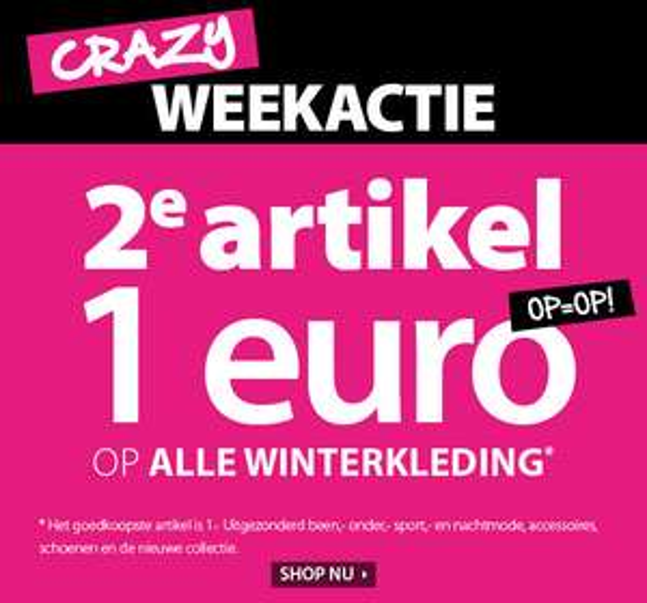 SALE: 2e artikel 1 EURO + 15% extra (va €50) @ terStal