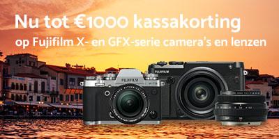 Tot €1000 korting op Fujifilm