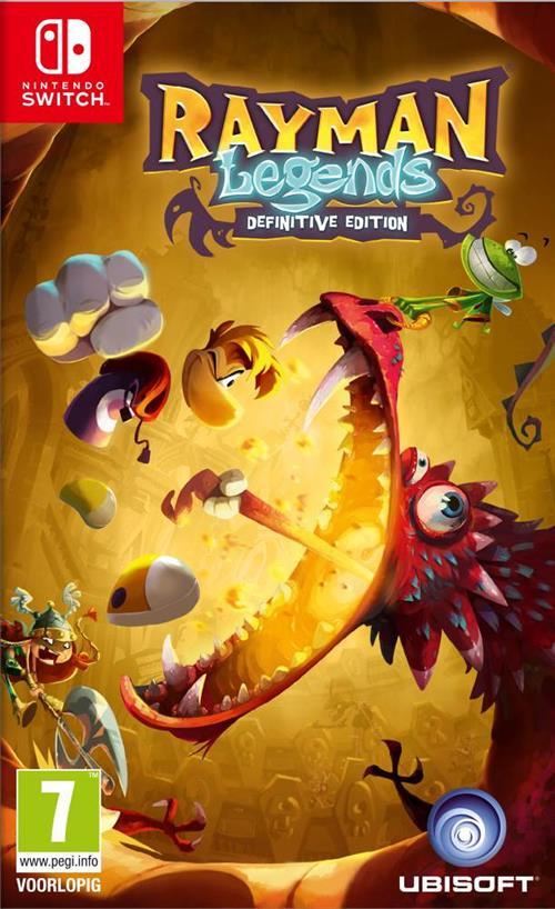 Rayman Legends: Definitive Edition (Switch) voor 9,99€ in Nintendo Eshop NL ( 7,90 in Russische Eshop )