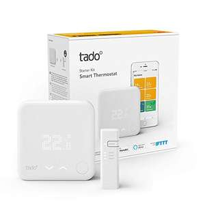 tado ° Smart-Home Thermostaat Starter Kit V3 + (verwarmingsregeling, compatibel met Alexa, Apple Home Kit (Siri), Google Assistant, IFTTT)