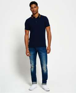 Superdry Cityline Polo voor €11,24 @ Superdry.nl