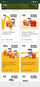 [GRENSDEAL BELGIË] McDonald's fan days