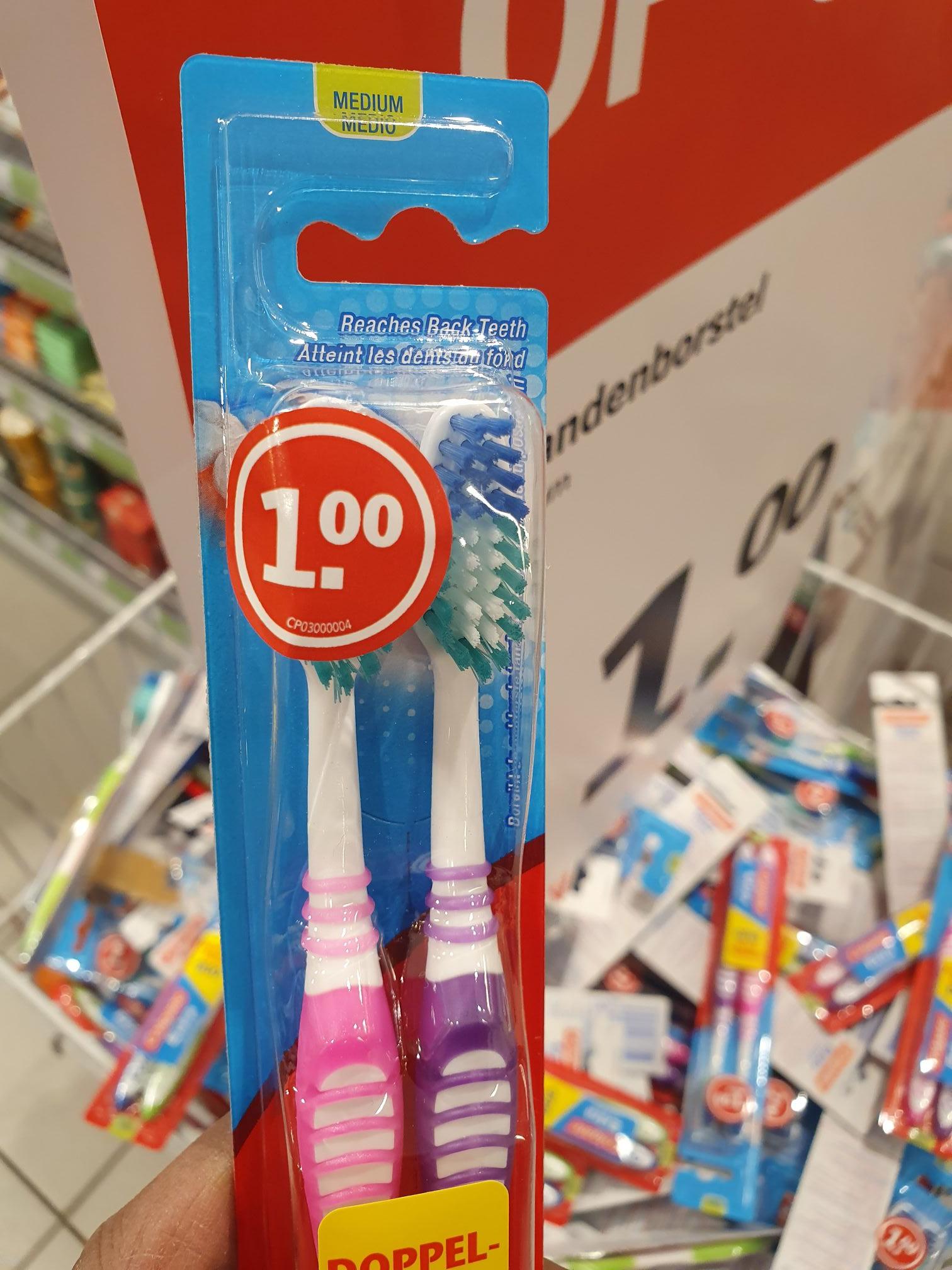 Lokale aanbieding: Duopack Colgate tandenborstel 1€ @ Albert Heijn Koningin Julianabaan Voorburg