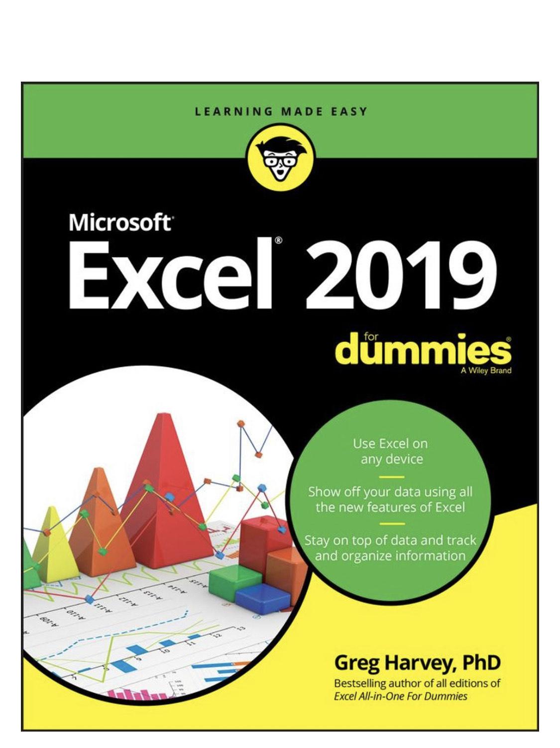 Gratis Excel e-Book 2019 voor Dummies [EN]
