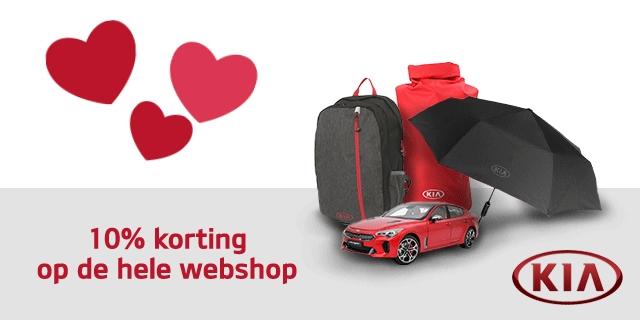 Kia Webshop 10% korting