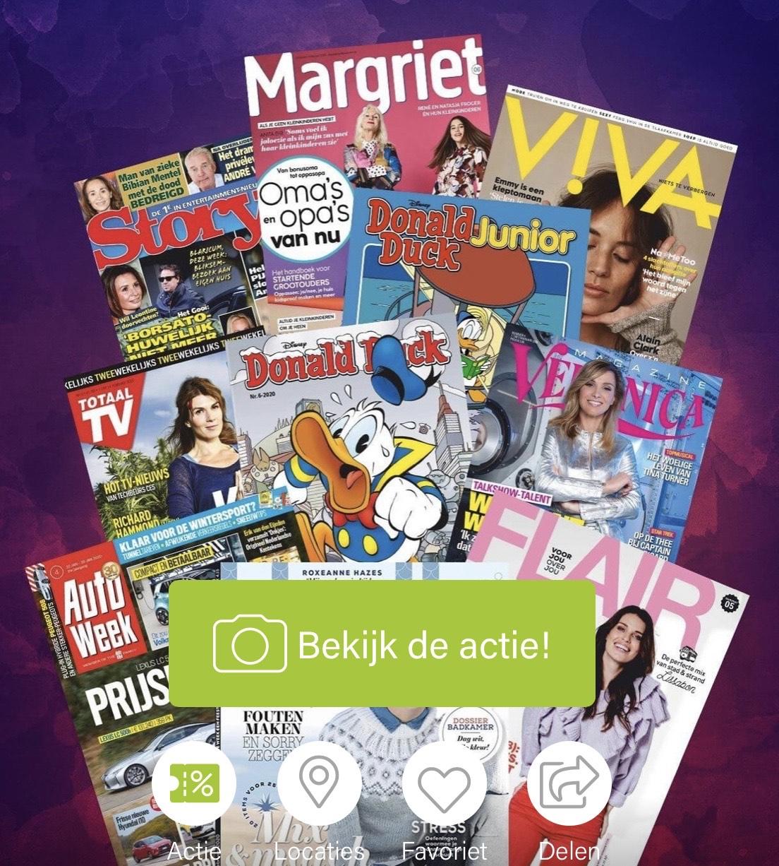 6 tijdschriften voor maar €10,- of 3 voor €12,50 @ Scoupy