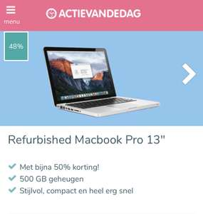 Refurbished Macbook Pro 13'' inch