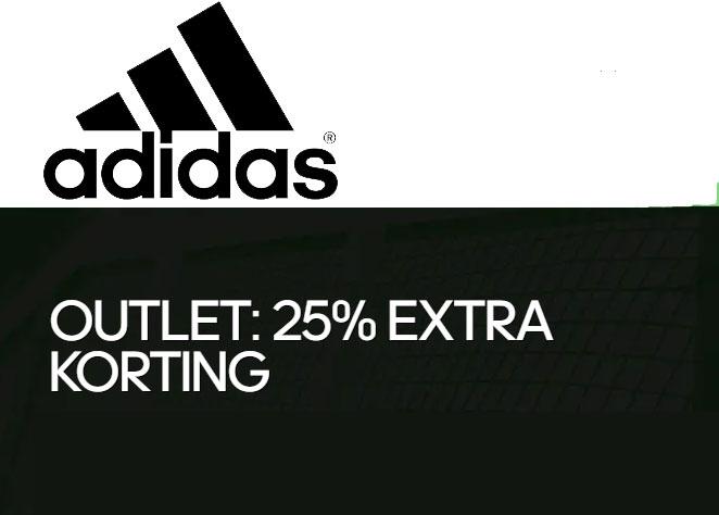 SALE tot -50% + 25% EXTRA @ adidas