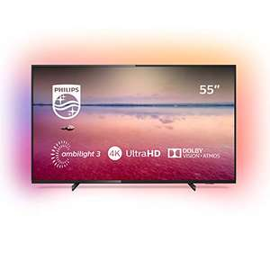 "Philips Ambilight 55PUS6704/12 Smart TV 55"" LED (4K UHD, HDR 10+, Dolby Vision, Dolby Atmos, Smart TV) @Amazon.es"