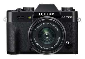 Fujifilm X-T20 systeemcamera + 15-45mm lens @Amazon