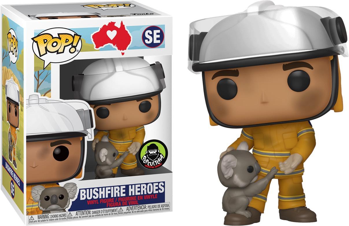 Funko Pop Australische brandweerman
