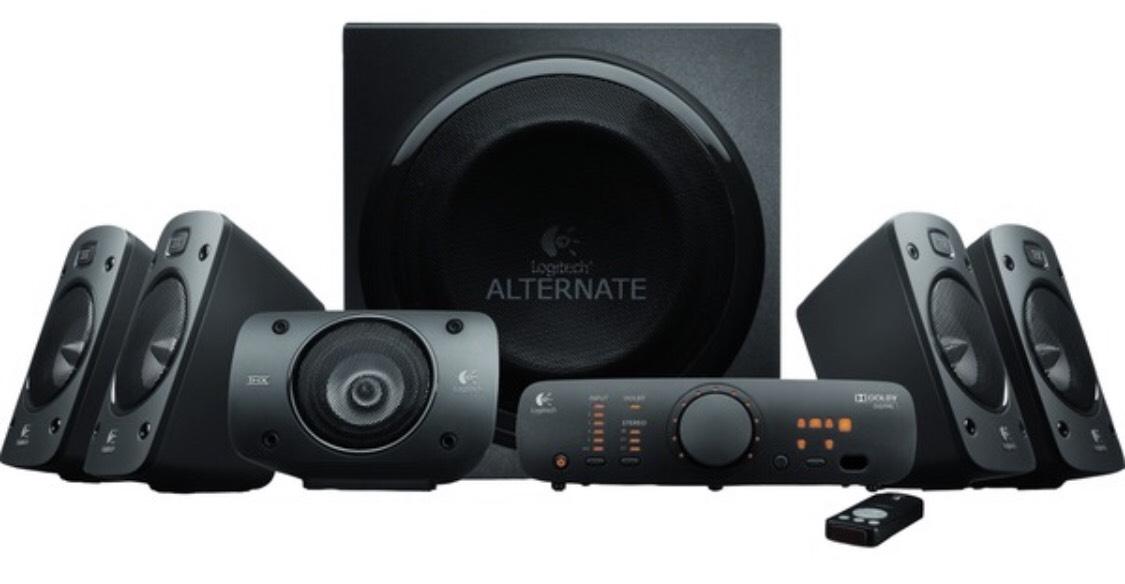 Logitech z906 Surround Sound Speaker System voor €177 @ Amazon UK