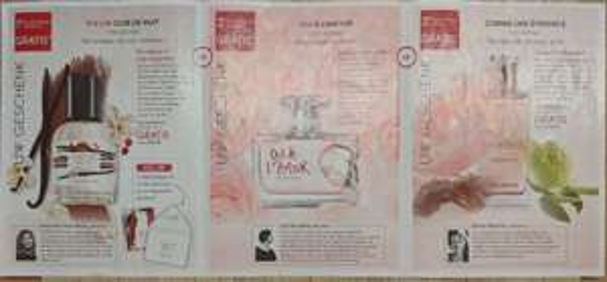 10 Euro voor 30 ml of 50 ml Eau de Parfum ,belangrijk zie omschrijving, Cuir De Nuit of Oui A Lamour of Comme Une Evidence, Yves Rocher.