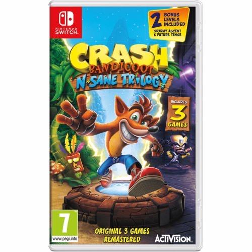 [Nintendo Switch] Crash Bandicoot™ N. Sane Trilogy @eShop
