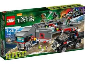 LEGO NINJA TURTLES BIG RIG SNEEUWONTSNAPPING - 79116