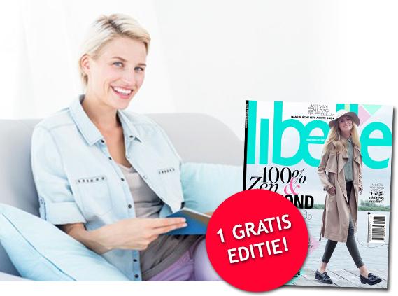 Gratis een editie van het tijdschrift Libelle vrijblijvend door je brievenbus
