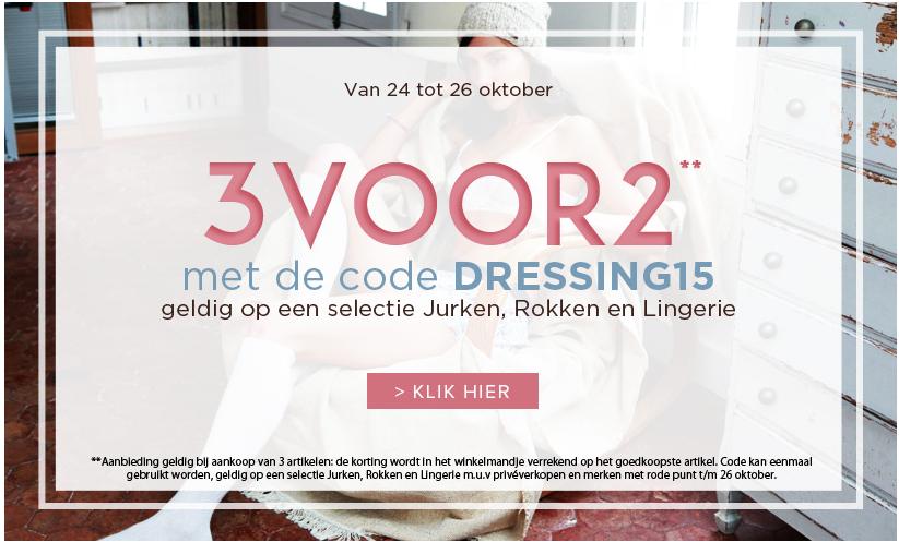 Tot 91% korting op mode en lingerie + 3e GRATIS @ Outlet Avenue