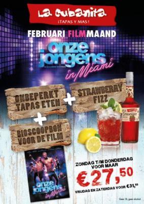 La Cubanita: Feb. Filmmaand!