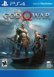 God of War (PS4 download) (US PSN-account benodigd)