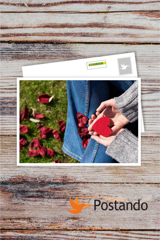 Bespaar geld door een Valentijnskaart te sturen met uw eigen foto's [Postando App Android & iOS].