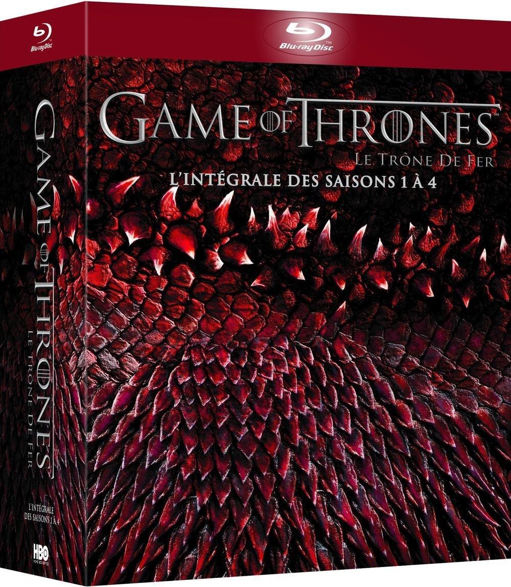 Black Weekend: tot 50% korting op Blu-ray, DVD en Series (o.a. Game of Thrones - Seizoen 1-4 (Blu-ray) voor €40,49 @ Amazon.fr