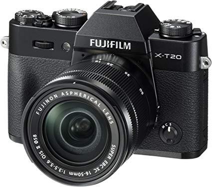 Fujifilm X-T20 met lens XF 18-55 @amazon.de