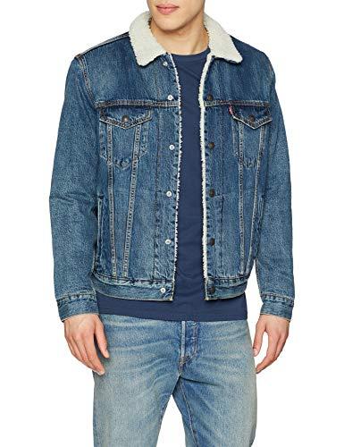 Levi's type 3 Sherpa Trucker Jacket (heren) voor €38,85 @ Amazon.de