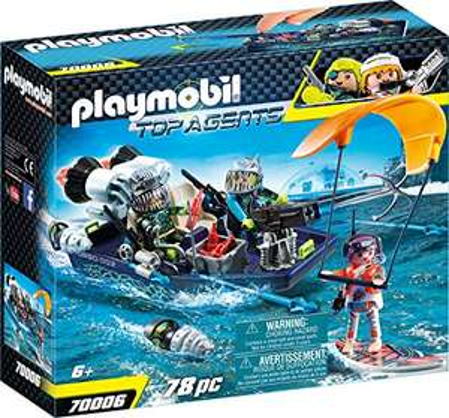 Playmobil 70006 Team S.H.A.R.K. Harpoenboot €11,20 @ amazon.de