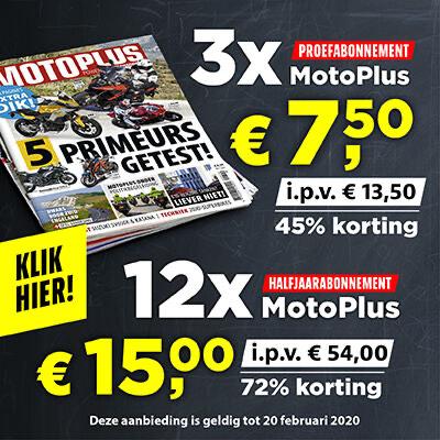 Motoplus magazine half jaar (12 nummers) voor €15