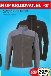 THE NORTH FACE HERENFLEECEVEST €30 @Kruidvat